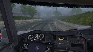 Realistic rain drops mod