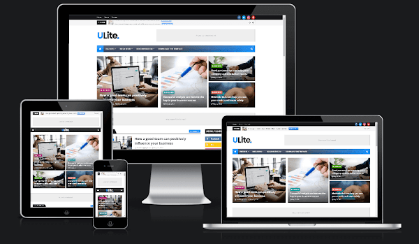 UltraLite Blogger Template Free Download