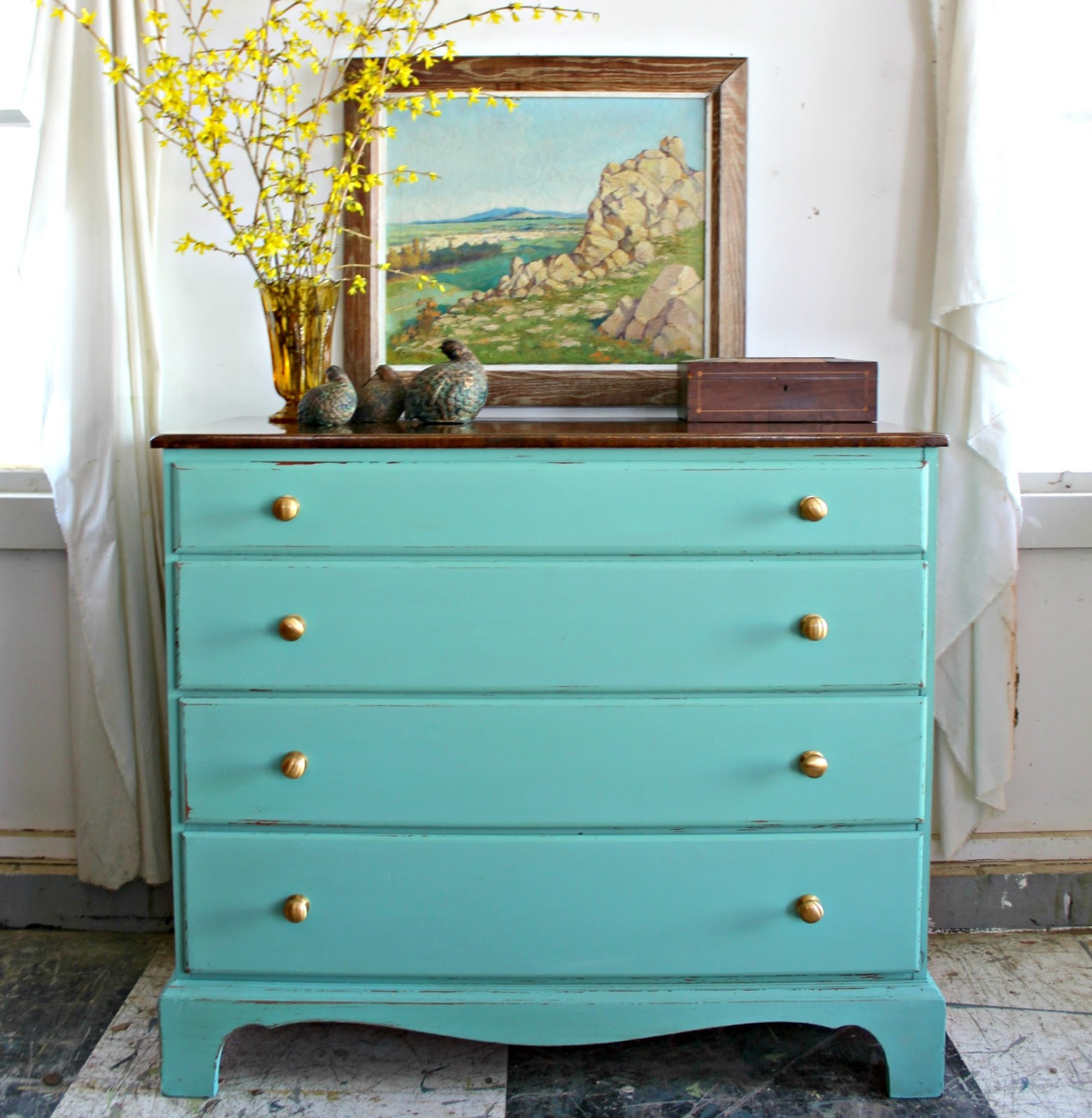 Heir and Space: Two Dressers and a Desk