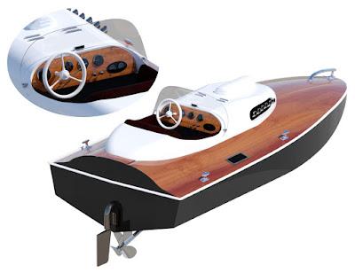 Racing Sports Boat
