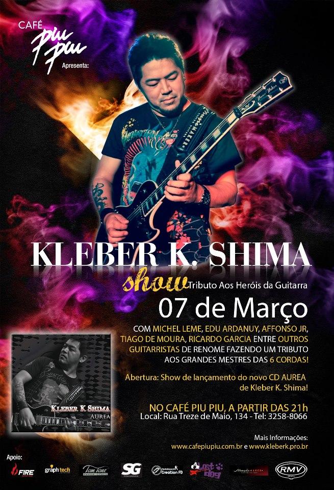 Kleber K Shima - Heróis da Guitarra