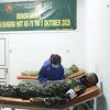 Sambut HUT TNI ke 75 Kodim 1307/Poso Gelar Donor Darah, Terapkan Protokol Kesehatan