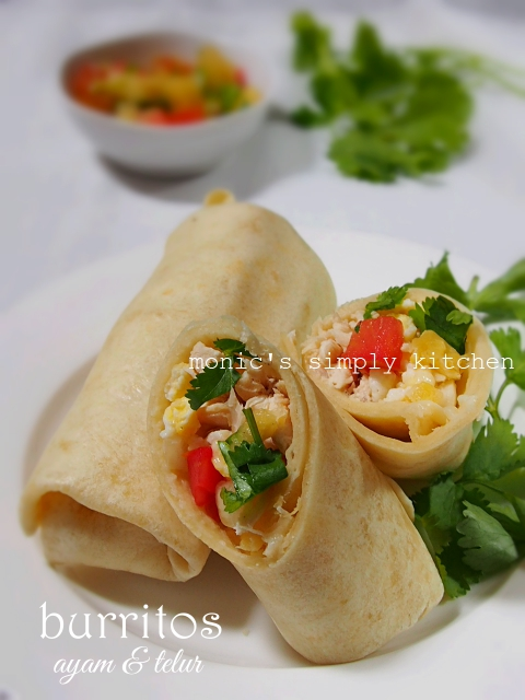resep burritos dengan tortilla homemade