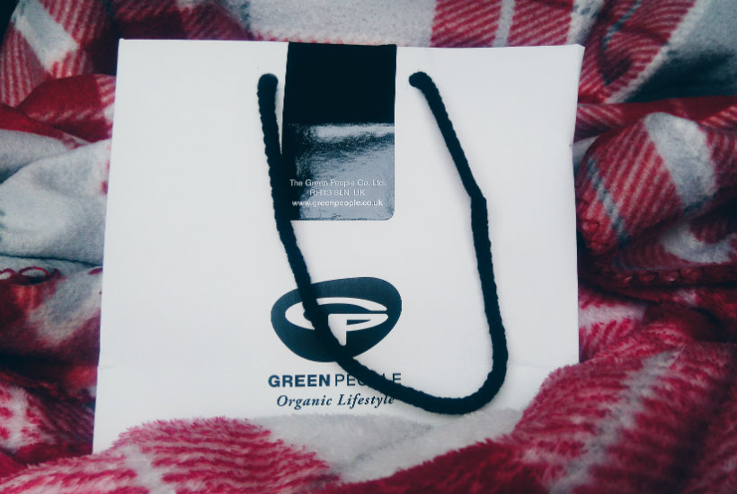 Green People gift bag