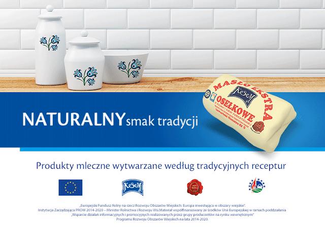 Masło osełkowe z Kujaw i Ziemi Dobrzyńskiej