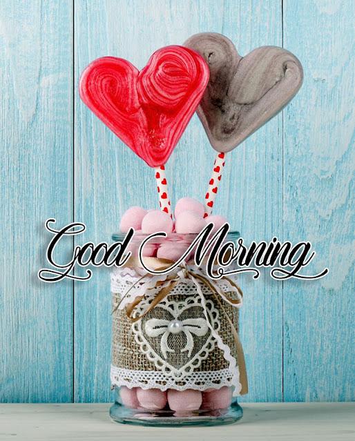 good morning wish candy image