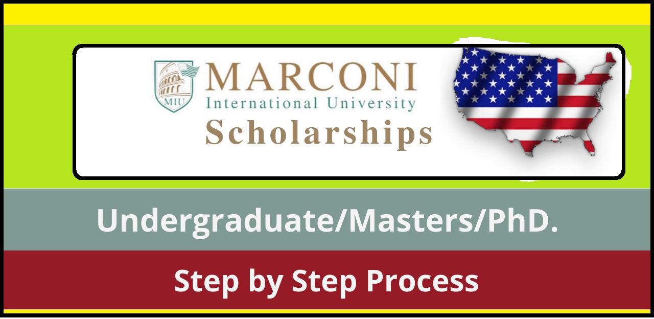منحة جامعة ماركوني الدولية 2022   الولايات المتحدة الأمريكية