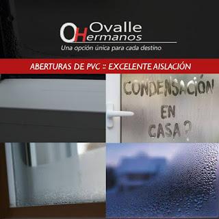Aberturas de PVC con excelente aislación termoacústica
