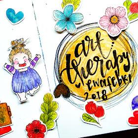 tips membuat art journal pages
