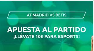 Mondobets promo Atletico vs Betis
