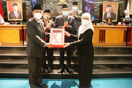 DPRD DKI Jakarta Sahkan Tiga Raperda, Termasuk Perda Penanganan COVID-19