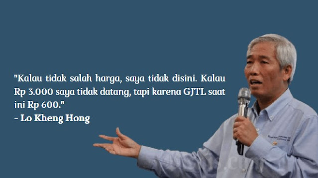 Lo Kheng Hong Membeli Saham PT Gajah Tunggal Tbk (IDX: GJTL)