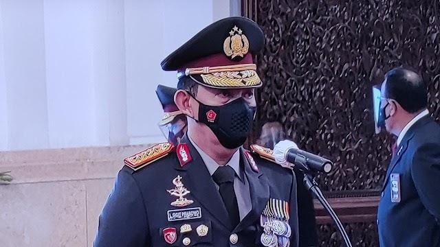 Resmi Jabat Kapolri, Jenderal Listyo Akan Wujudkan Potret Polri yang Tegas dan Humanis