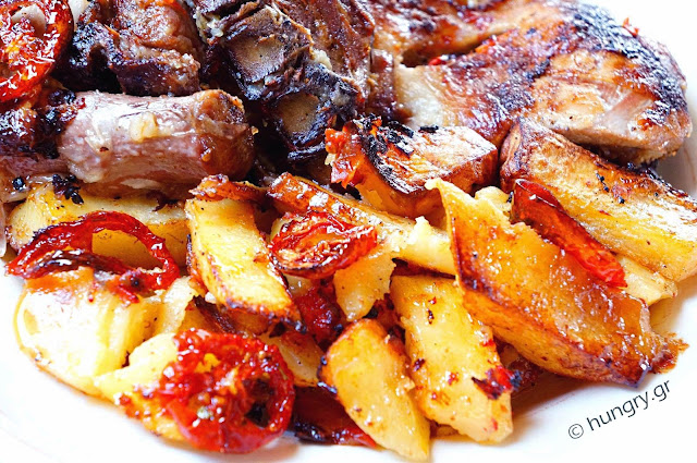 Baked Lamb with Tomato