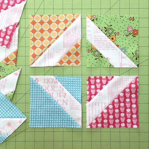 My Flower Box Quilt Block - Tutorial