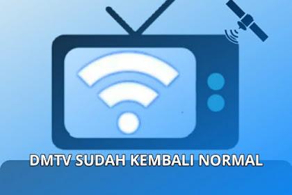 Channel DMTV Sudah Kembali Normal, ini Frekuensinya