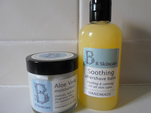 B Skincare Aloe Vera Moisturiser & Soothing Aftershave Balm