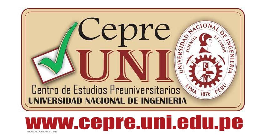 Resultados CEPRE-UNI 2018-2 (22 Julio) Examen Final - Ciclo Preuniversitario - Universidad Nacional de Ingeniería - www.cepre.uni.edu.pe | www.uni.edu.pe