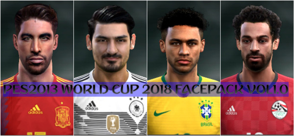 PES 2013 World Cup Russia 2018 Mini Facepack By Minosta4u