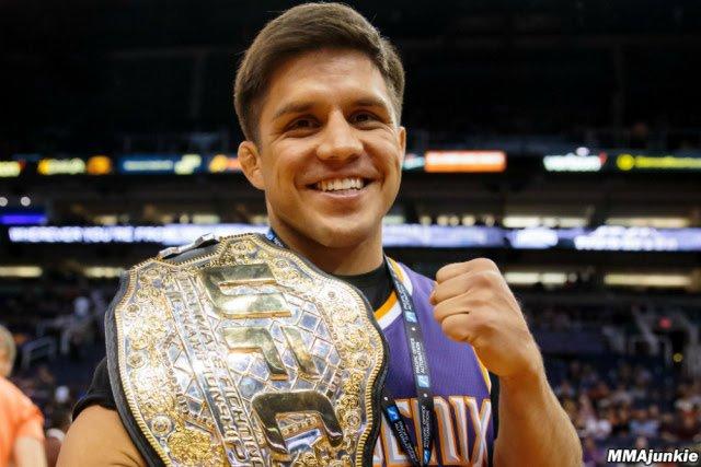 Henry Cejudo UFC Bantamweight champion