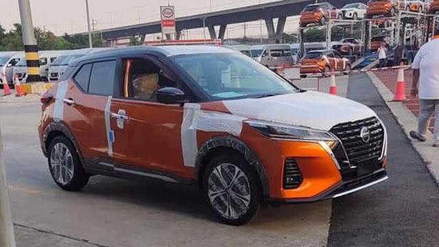 O novo Nissan Kicks Nissan-kicks-2021---flagra-sem-camuflagem