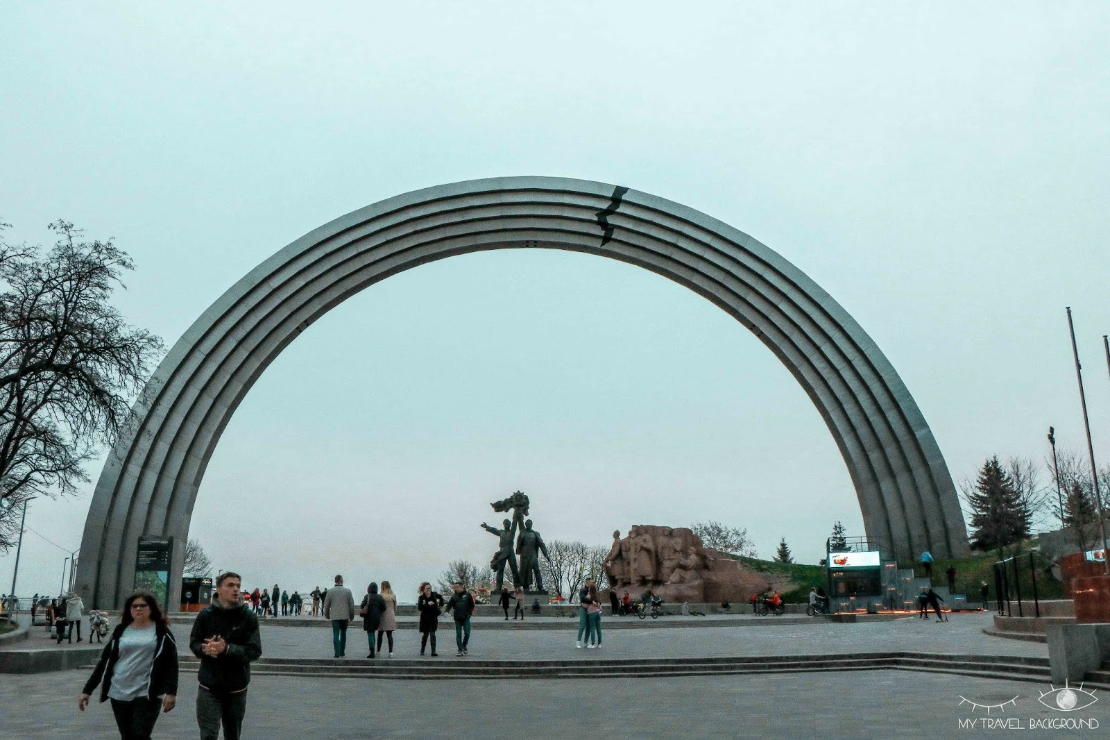 My Travel Background : visiter Kiev, la capitale de l'Ukraine, top 10 - Arche de l'amitié