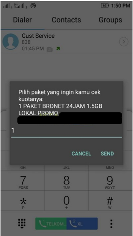 Cara Cek Kuota Internet AXIS 2019