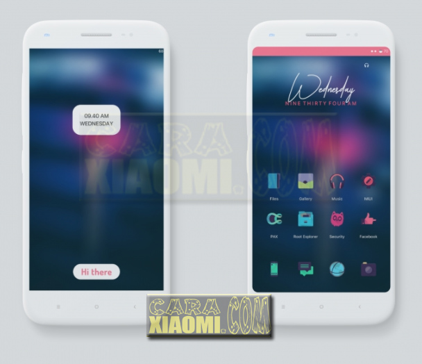 Xiaomi Theme Paradox Pink V2 (P.Pink) MTZ [For MIUI V8 / V9] [Update Version]