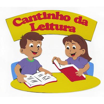 Aprendendo Com A Tia Debora Placa Para Cantinho Da Leitura Para