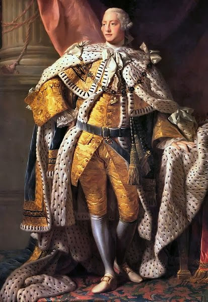 King George III in Coronation Robes by Allan Ramsay, 1761-1762