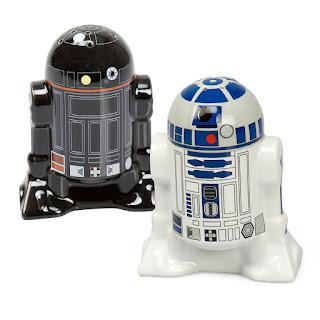 Star Wars Salt and Pepper