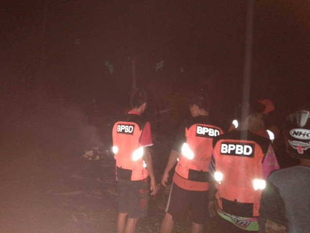 Breaking News : Api Hanguskan Kios Milik Arung di Parinding