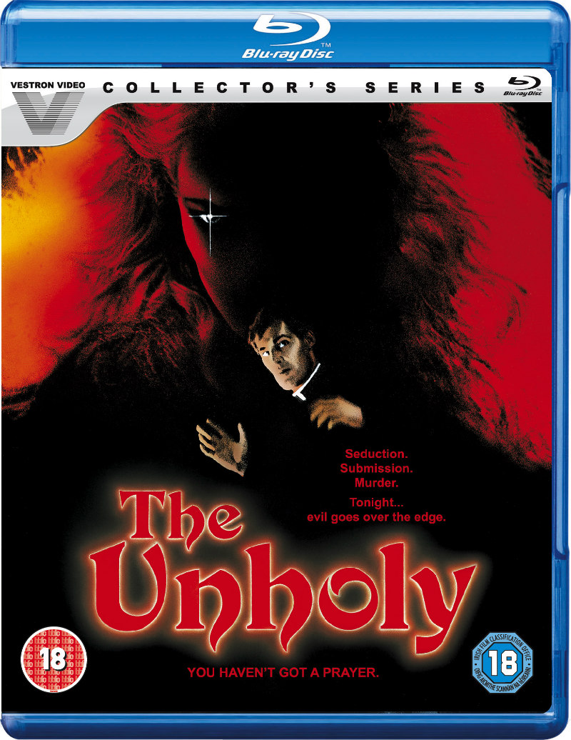 the unholy 1988 blu-ray