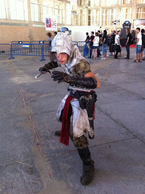 Assassins Creed en la Comic Con Spain 2012