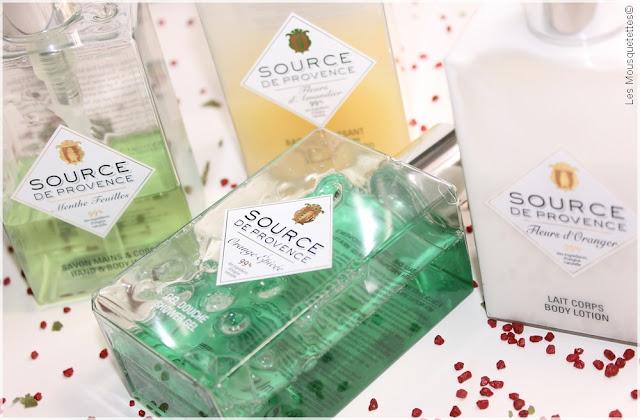 Sources de Provence, nouveauté en cosmétique naturel - Blog beauté Les Mousquetettes©