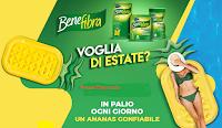 Logo Concorso Benefibra ''Voglia di Estate'' : ogni giorno vinci un materassino