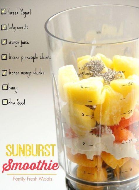 Sunburst Smoothie