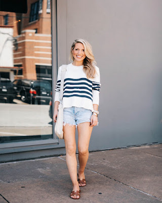 outfits spring with danim shorts