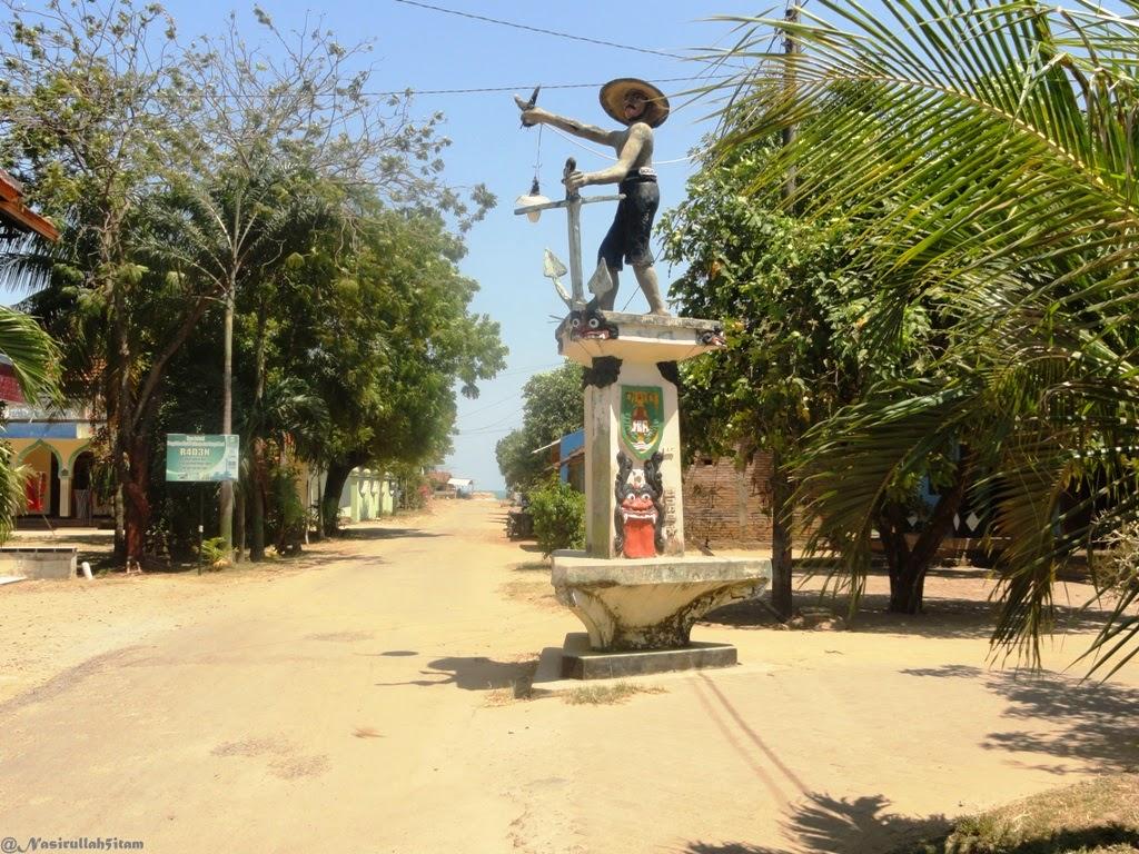Adar menuju pantai Ombak Mati, Bondo, Jepara