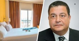 رئيس مجلس إدارة شركة بالم هيلز للتعمير ياسين منصور يسلم منشأته للحجر الصحي