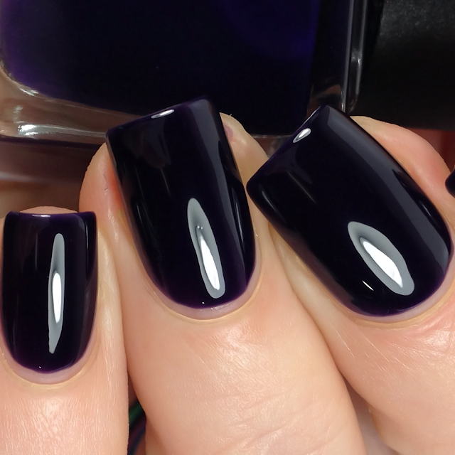 Night Owl Lacquer-Cackle Much?!