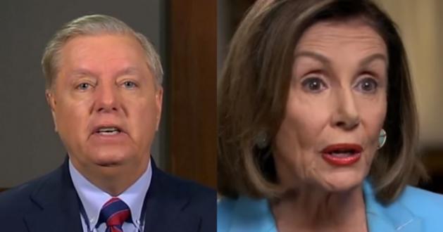 "Lindsey Graham Shuts Down Pelosi: ""GOP Senators Will Never Impeach Over Phone Call"""