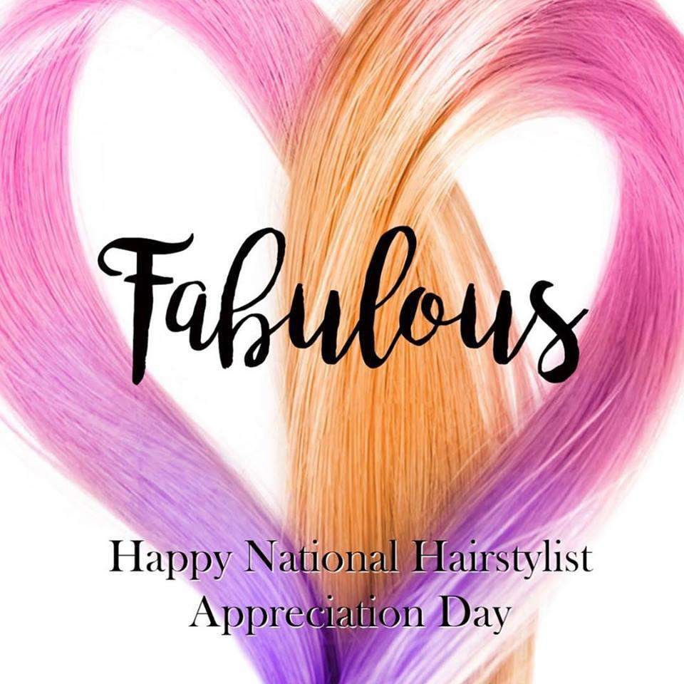 National Hairstylist Appreciation Day Wishes For Facebook