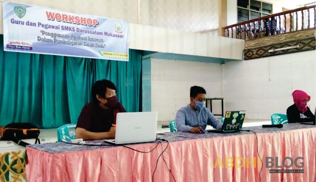 Workshop Guru Hebat SMKS Darussalam Makassar 23-25 Juni 2020