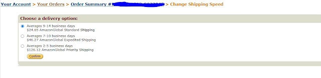 Choose Shipping Speed