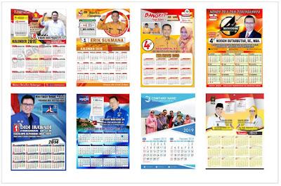 jasa desain kalender online Murah cepat