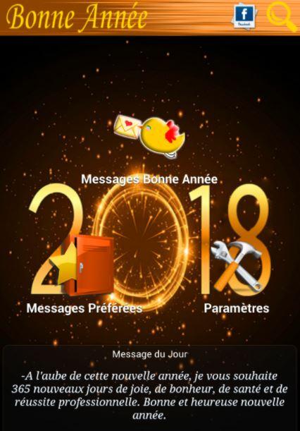 message de bonne année facebook whatsapp