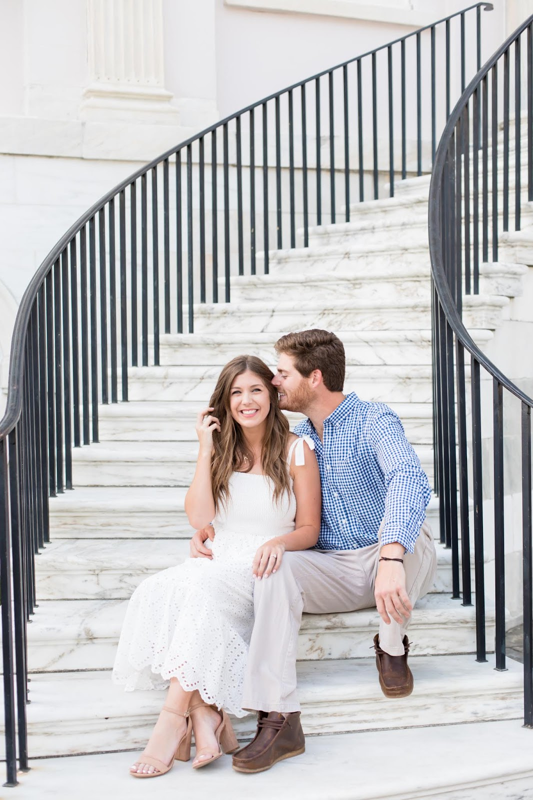 Engagement Photoshoot in Downtown Charleston - Chasing Cinderella