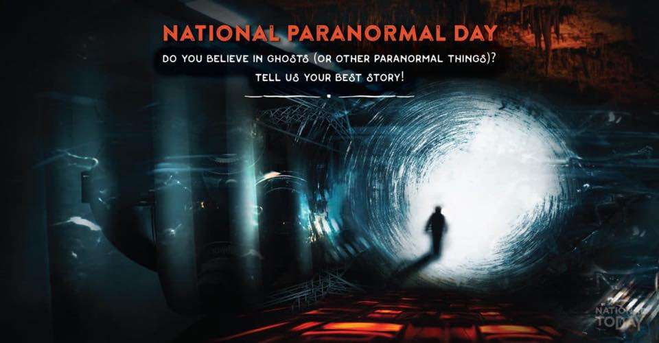 National Paranormal Day Wishes Unique Image