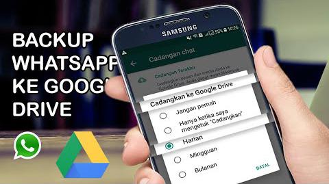 11+ Cara Backup Wa Ke Google Drive mudah